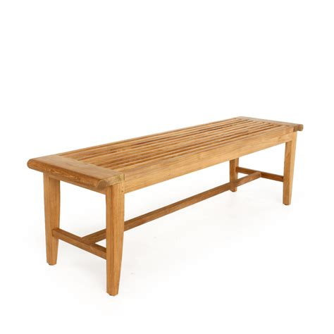 backless bench teak backless benches westminster teak furniture