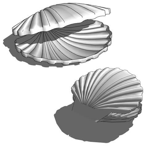 Shell 3d Model sea shell 3d model formfonts 3d models textures