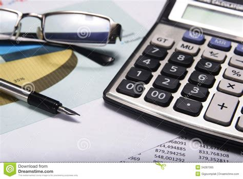 royalty free stock accounting and finance stock image image of eyeglass