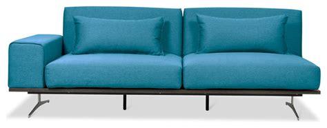 Turquoise Sleeper Sofa by Metropolitan Ii Turquoise Sleeper Sofa Right Modern Sofas