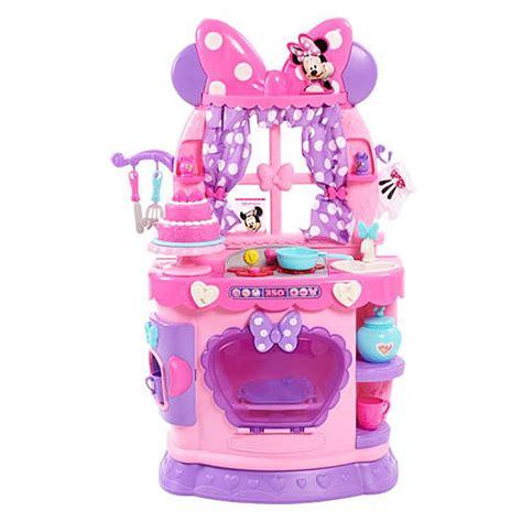 Minnie Mouse Kitchen Playset disney minnie bow tique sweet surprises kitchen