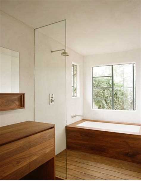 wood bathrooms the 25 best ideas about shower over bath on pinterest