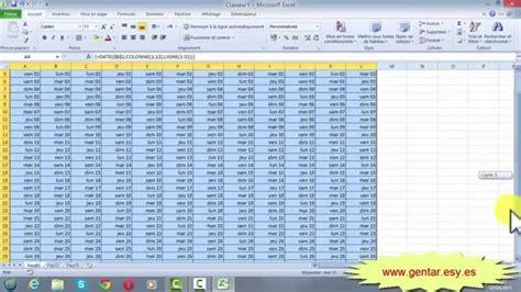 Calendrier Perpetuel Excel Excel Calendrier Annuel Avec Formule Matricielle