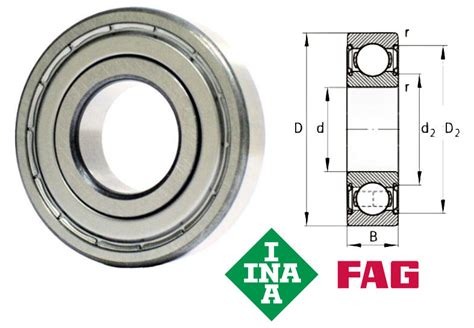 Bearing 6002 2z Skf 6002 2z c3 shielded groove bearing 15x32x9mm