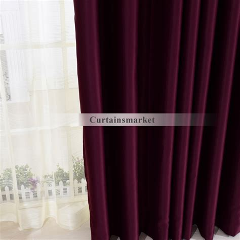dark purple curtains drapes dark purple window panels curtains in cool for blackout