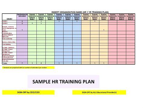 excel tutorial hr template workout plan template