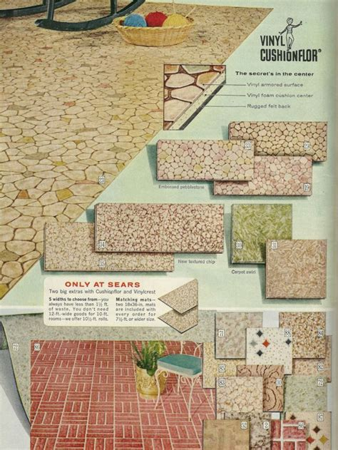 vintage home decor 1960s flooring vintage advertising