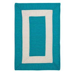 Turquoise Area Rug Colonial Mills Cb92r Rope Walk Area Rug Turquoise Atg Stores