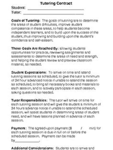 tutor contract template tutoring tools stay organized on tutoring