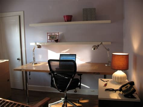 desk lighting ideas contemporary brown wooden wall mounted desk for