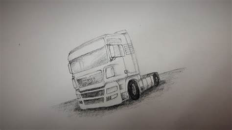how is a truck how to draw a truck