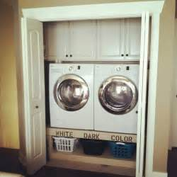 laundry closet ideas organize it