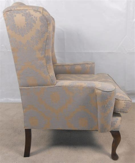 queen anne armchairs queen anne style wing armchair