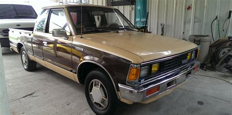 nissan datsun 1984 713ham 1984 nissan 720 pick up specs photos modification