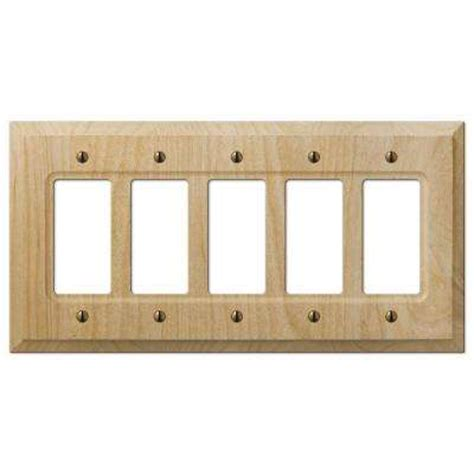 wood rocker switch plates switch plates the home depot