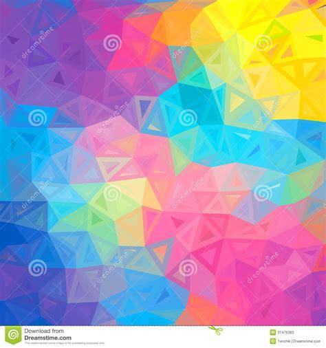 imagenes vectores de triangulos fundo abstrato colorido do vetor dos tri 226 ngulos fotos de