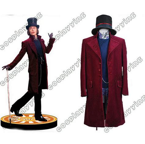 Limited Stockpromospecialexclusiveterbatas Cool Unisex Cape Hat and the chocolate factory costume johnny