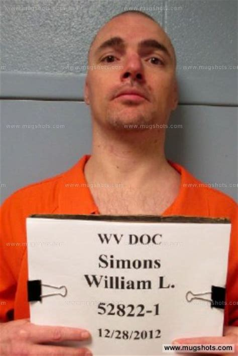 Mercer County Wv Arrest Records William L Simons Mugshot William L Simons Arrest Mercer County Wv