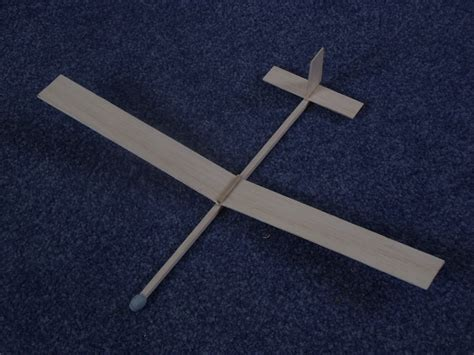 simple balsa wood glider template  woodworking