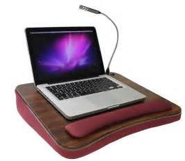 laptop desk for memory foam lapdesk with light burgundy