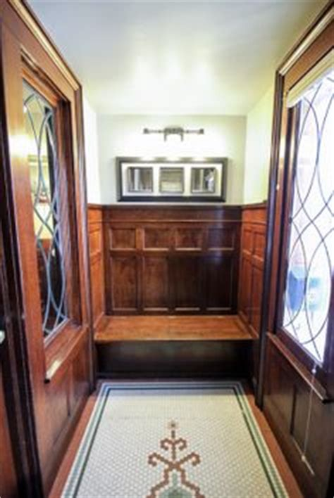 vestibule bench victorian vestibules on pinterest encaustic tile wainscoting and tile