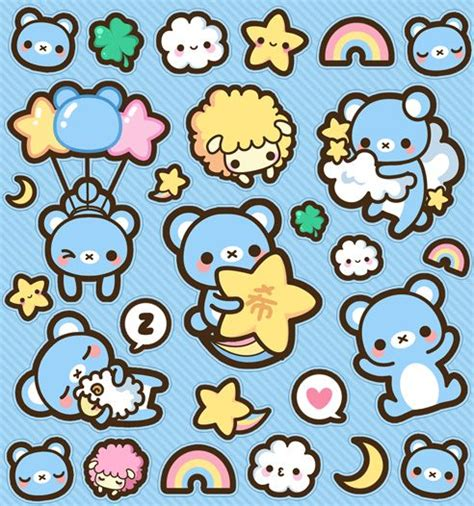 stickable wallpaper 141 best images about dibujos kawaii on pinterest my