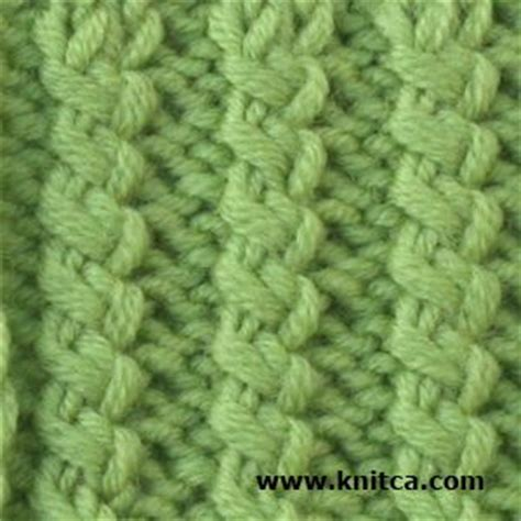 twisted knitting stitches a twisted rib knitting stitch such as this is a great way