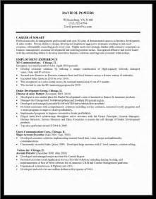 Sample Resume Profile Summary resume profile summary for freshers resume profile summary sample