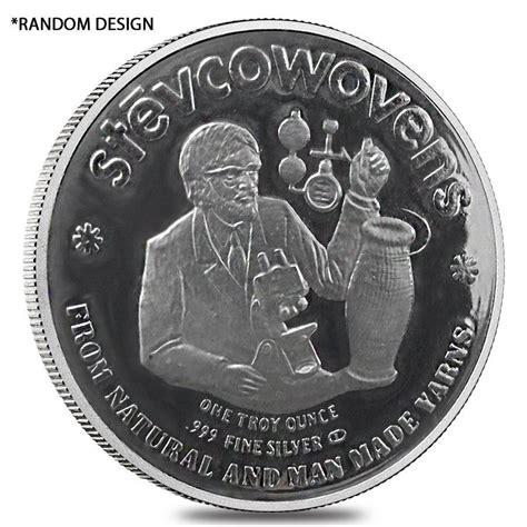 1 Oz Design Silver 999 by 1 Oz Engelhard Stevcoknit Silver Bullion Exchanges