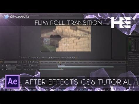 Tutorial After Effects Transitions | film roll transition after effects tutorial after