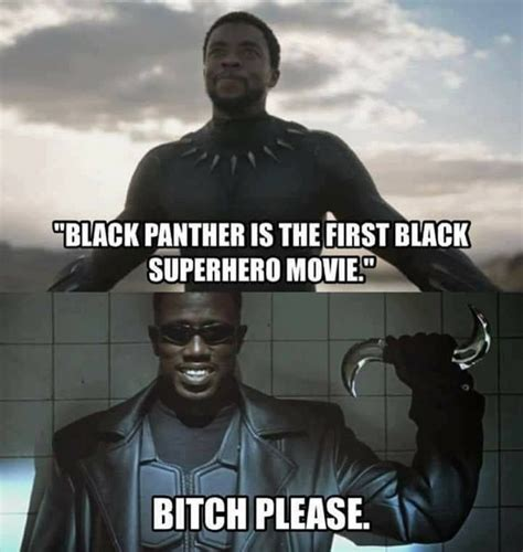 Black Comedian Meme - black panther comics and memes