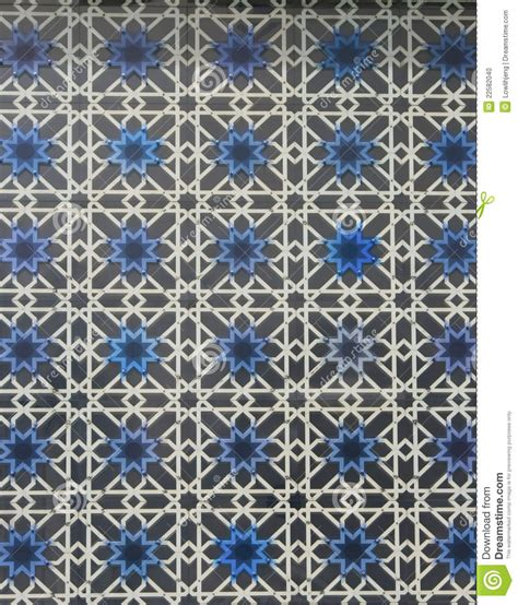 masjid grill design lattice window stock photo image 22582040