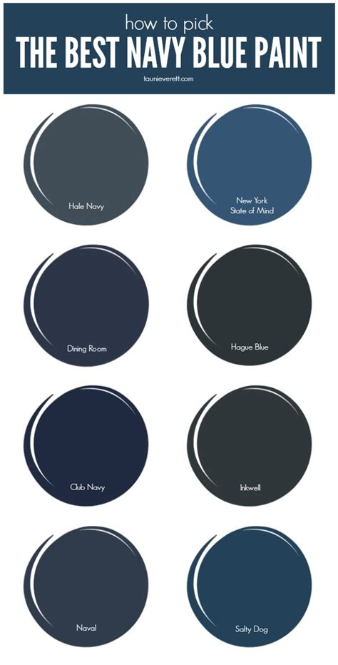 paint colors navy the best navy blue paint for your home tauni co