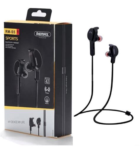 Remax Sport Bluetooth Earphone Rb S8 Baru remax s5 sports bluetooth earphones a3gadgets