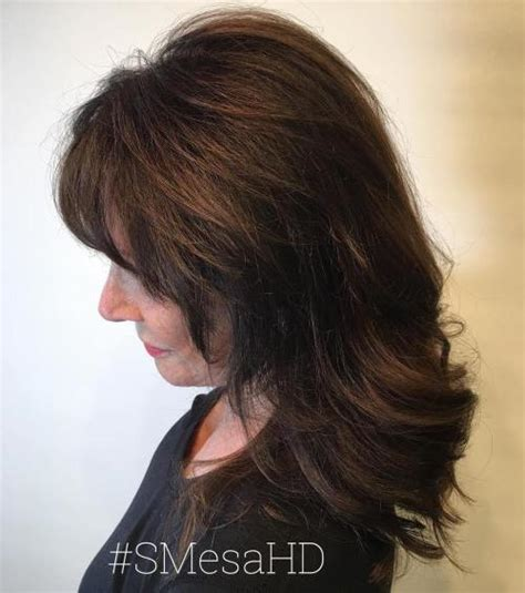 Medium Hairstyles For 50 With Bangs by The Best Hairstyles For 50 80 Flattering Cuts