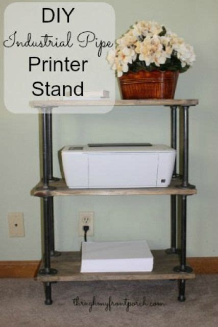 printer stand ideas best 25 printer stand ideas on pinterest