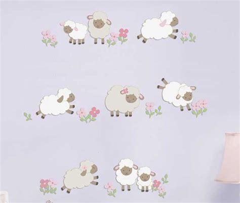 Spot Wall Stickers lamb nursery decor lamb nursery decor