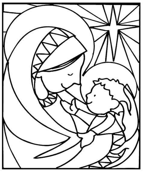 coloring pages jesus christmas free christmas coloring page family