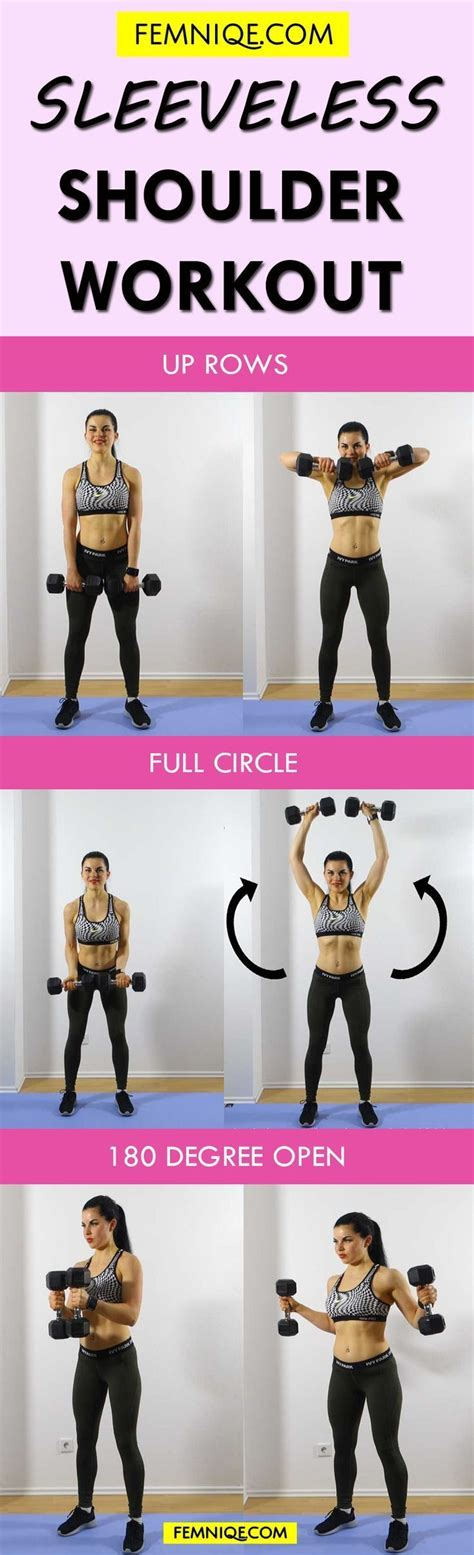 shoulder workout for at home with weights