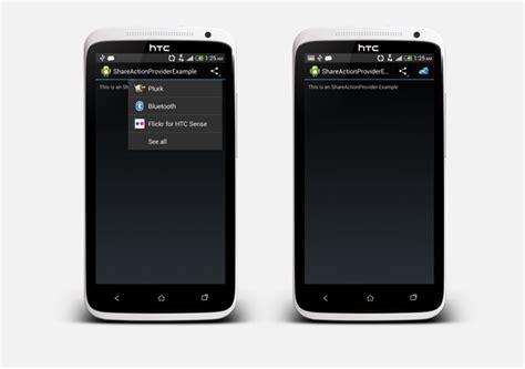 xamarin android shareactionprovider exle in xamarin android stacktips
