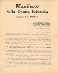 The Italian Manifesto by The Manifesto Of The Futurist Italian Futurism