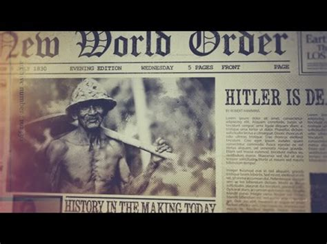 Newspaper Effect After Effects