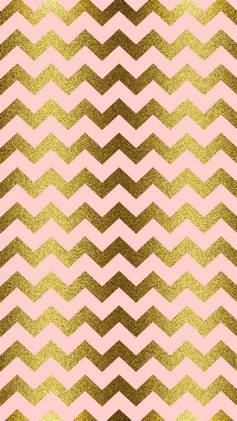 zig zag glitter wallpaper gold glitter blush pink chevron iphone wallpaper