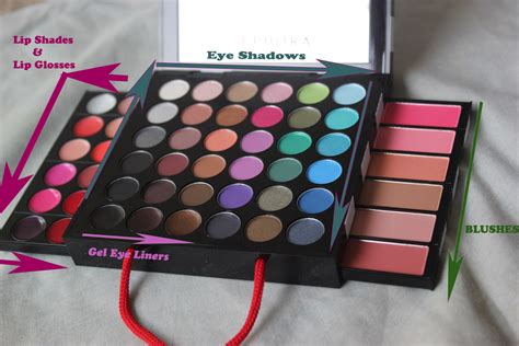 Sephora Makeup Palette sephora makeup kit review 50 colours 2000 looks