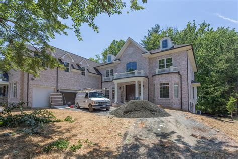 mclean va colonial custom home ar design