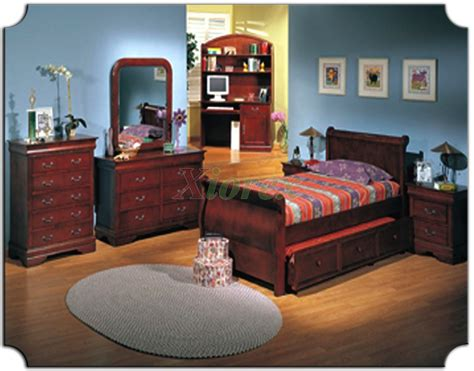 childrens trundle bedroom sets kids sleigh bedroom furniture set with trundle bed 179