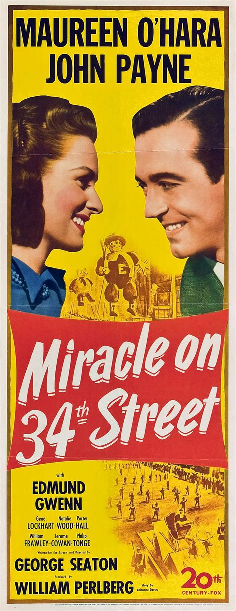 Miracle On 34th 1947 Miracle On 34th