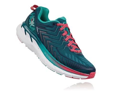 Original Hoka One One Clifton 4 Running Sepatu 1016724bc s clifton 4 road running shoe hoka one one 174
