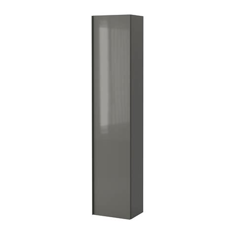 godmorgon high cabinet high gloss gray ikea