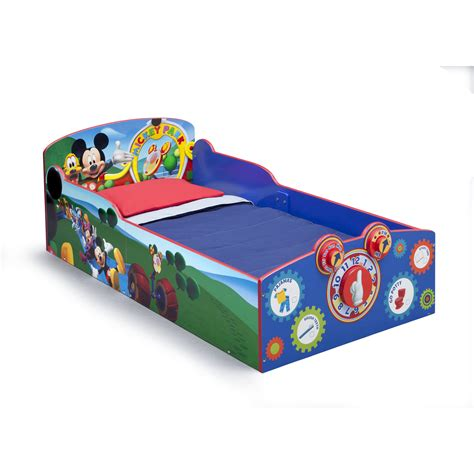 delta toddler bed delta children mickey mouse toddler bed reviews wayfair